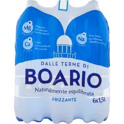Boario acqua frizzante lt. 1,5 x6