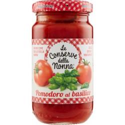 Le conserve della Nonna sugo pomodoro e basilico - gr.190