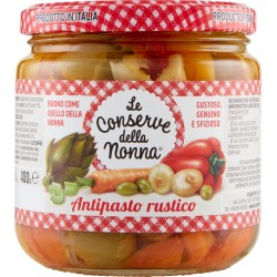 Le conserve della Nonna antipasto rustico gr.400