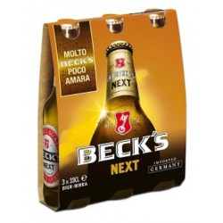 Becks birra next cl.33 cluster x3