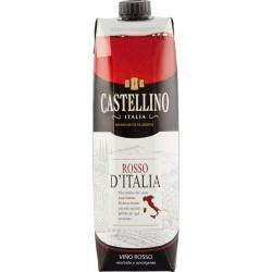 Castellino vino rosso brik - lt.1