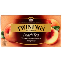 Twinings Peach Tea gr.50 25 filtri