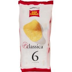 San Carlo patatine classiche multipacco 6 pezzi gr.25