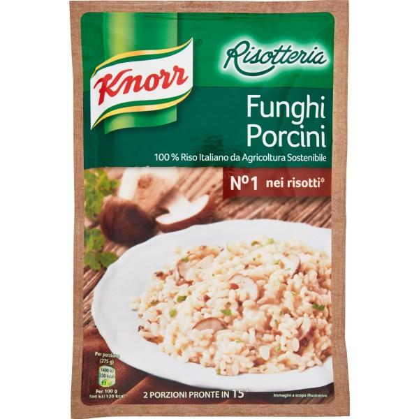 Knorr Risotteria Risotto Ai Funghi Porcini Preparato In Busta gr. 175