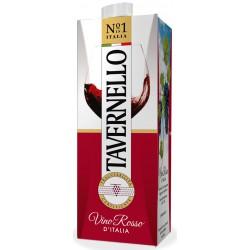 Tavernello vino rosso brik - lt.1