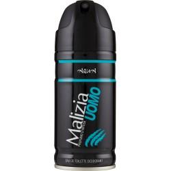 Malizia eau de toilette deodorant uomo aqua - ml.150