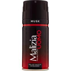 Malizia deodorante uomo musk - ml.150