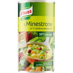 Knorr minestrone tradizionale con 11 verdure in lattina - gr.500