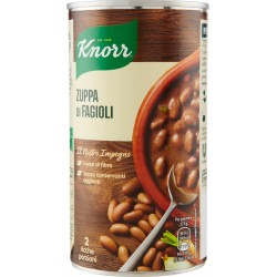 Knorr zuppa di fagioli in lattina - gr.500