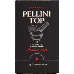 Pellini Top caffè arabica 100% espresso 18 cialde 125 gr.