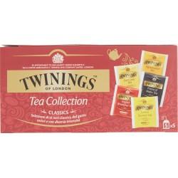 Twinings classics tea 25pezzi