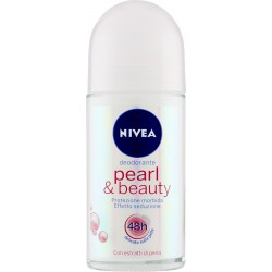 Nivea deodorante roll-on pearl - ml.50