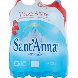 Sant'Anna acqua gas lt1,5 x 6