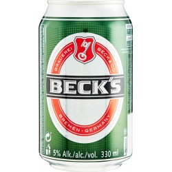 Becks lattina birra cl.33