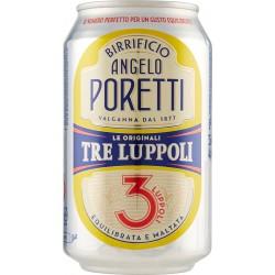 Birrificio Angelo Poretti Le Originali 3 Luppoli lattina 33 cl.