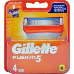 Gillette fusion ricariche 4pezzi