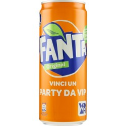 Fanta lattina sleek cl.33