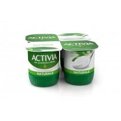 Danone activia yogurt naturale 4pezzi gr.500