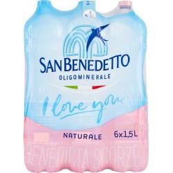 San Benedetto acqua naturale lt.1,5x6