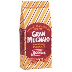 Spadoni farina gran mugnaio per dolci - kg.1