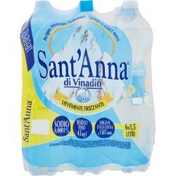 Sant'Anna acqua leggermente frizzante lt.1,5 x6