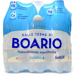 Boario acqua naturale - ml.500 cluster x6