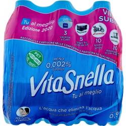 Vitasnella acqua naturale - ml.500 clust. x6