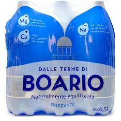 Boario acqua frizzante - ml.500 x 6 cluster
