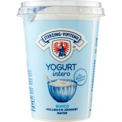 Vipiteno yogurt intero bianco gr.500