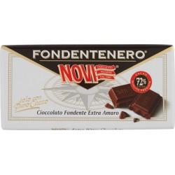 Novi tavoletta con cioccolato fondente nero - gr.100