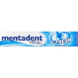 Mentadent dentifricio c-fresh con colluttorio - ml.75