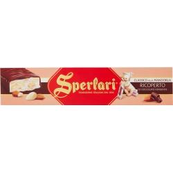Sperlari Classico alla mandorla ricoperto di cioccolato fondente 250 gr.