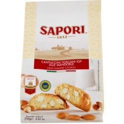 Sapori Cantuccini Toscani IGP alle Mandorle 250 gr.