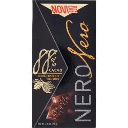 Novi NeroNero 88% Cacao Extra Fondente Vigoroso 75 gr.