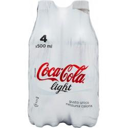 Cocacola light - ml.500 cluster x4