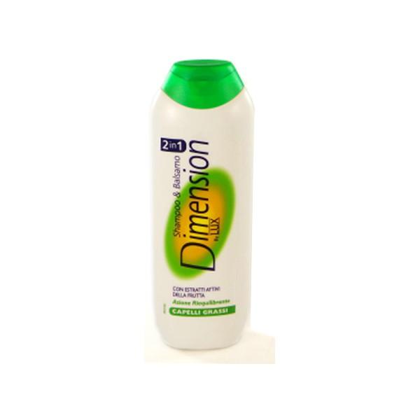 Dimension 2 in 1 shampoo capelli grassi - ml.250