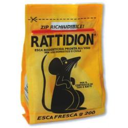 Esca ratticida rattidion - gr.200