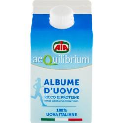 Aia aeQuilibrium Albume d'Uovo da Galline Allevate a Terra 500 gr.