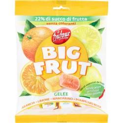 Dufour caramelle big fruit agrumi - gr.180