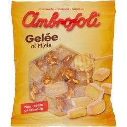 Ambrosoli caramelle gelee miele - gr.130