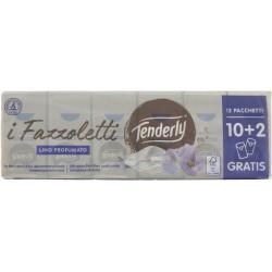Tenderly fazzoletti karitè x12