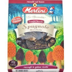 Funghi secchi spugnole Merlini gr.10
