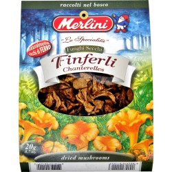Funghi secchi finferli Merlini gr.10