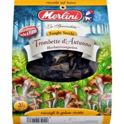Funghi secchi trombette Merlini gr.10