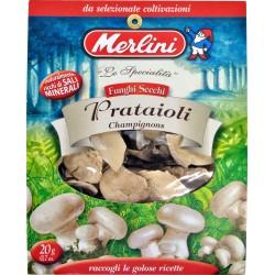 Funghi secchi prataioli Merlini gr.20