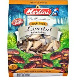 Funghi secchi lentini Merlini gr.20