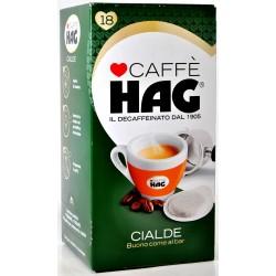 Hag caffe cialde x18 gr.125