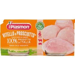 Plasmon omogenizzato di vitello e prosciutto - gr.80 x2