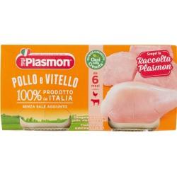 Plasmon omogenizzato di pollo e vitello - gr.80 x2