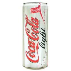 Coca-Cola light lattina sleek cl.33